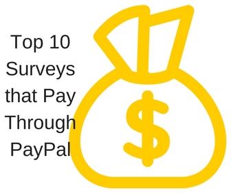 surveys that pay through PayPal