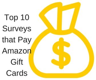 take surveys for amazon gift cards