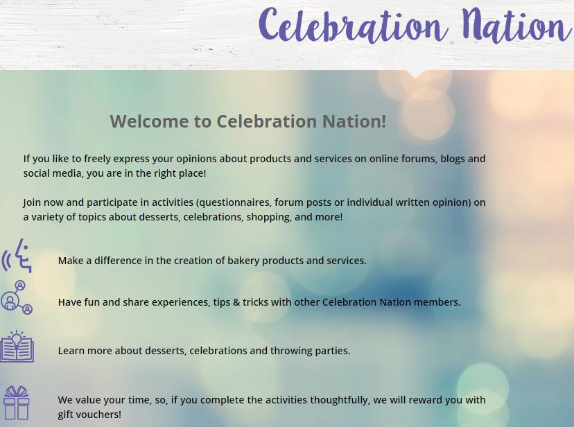 celebration nation panel