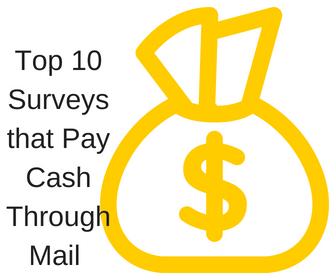 Online Surveys that Pay Cash Through Mail