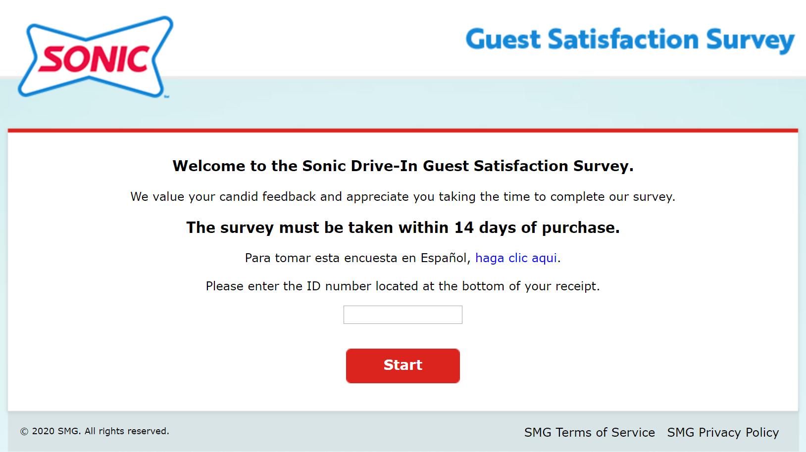 talktosonic customer survey